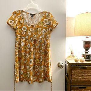 F21 casual floral dress